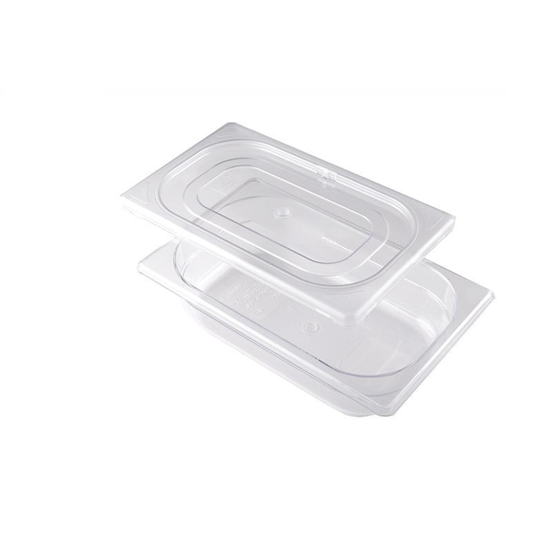 Contenitore con coperchio ermetico in Tritan GN 1/4
