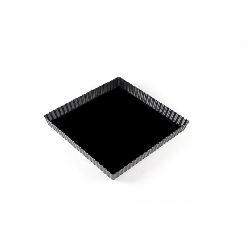 Tortiera quadrata con fondo mobile